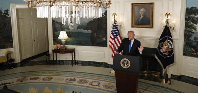 Trump anuncia la nueva estrategia de Estados Unidos sobre Irán