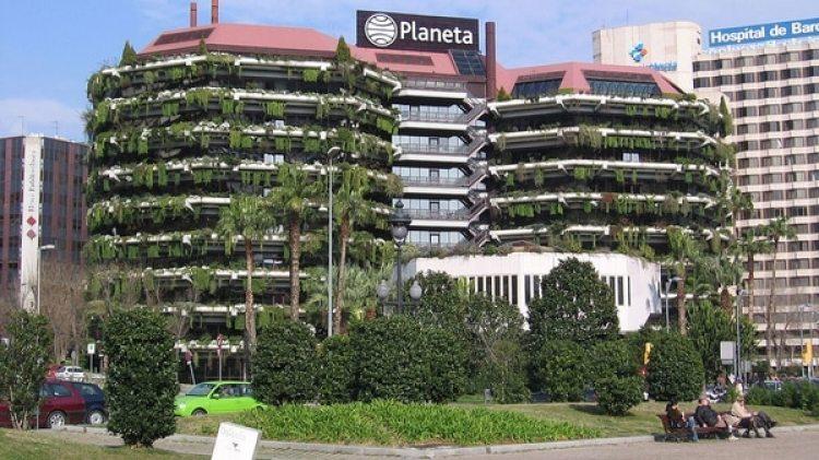 La sede de Editorial Planeta en Barcelona