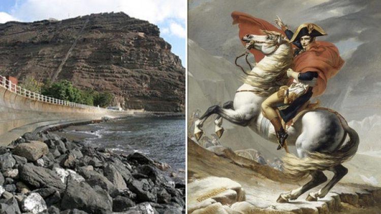 Para evitar que volviera a fugarse, Napoleón fue enviado a una isla remota de muy difícil acceso