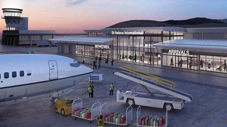 """El hasta ahora """"inútil"""" aeropuerto de Santa Helena"""
