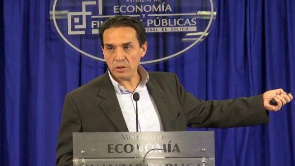 Resultado de imagen para ministro Mario Guillen y Luis Arce