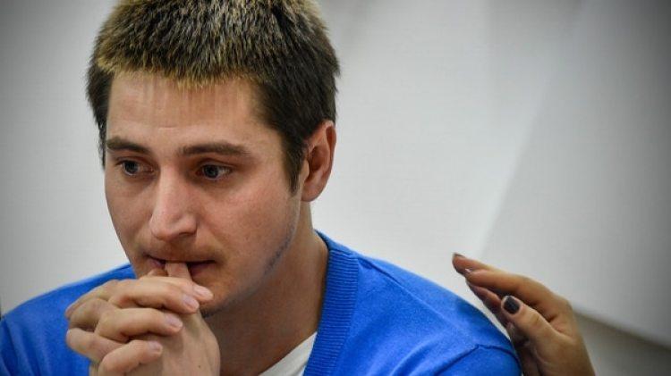 Maxim Lapunov, de 30 años, contó el infierno que vivió (AFP)