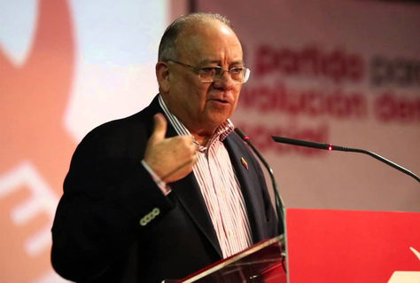 El embajador venezolano en España, Mario Isea. Foto: Youtube