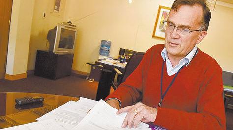 El director del INE, Luis Pereira. Foto archivo