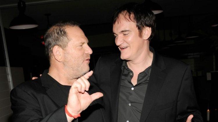 Harvey Weinsten y Quentin Tarantino (Getty Images)