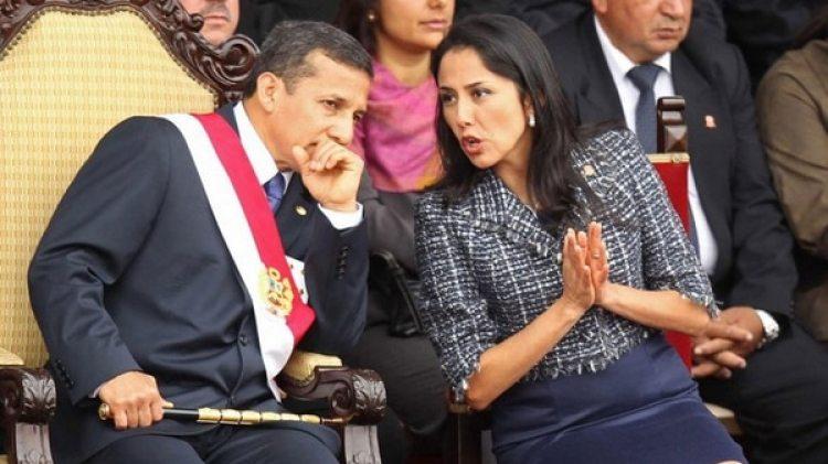 El ex presidente peruano Ollanta Humala y su mujer Nadine Heredia (EFE)