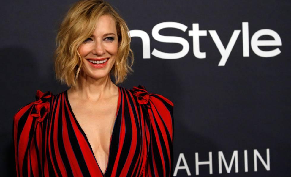 Cate Blanchett, en la entrega del premio
