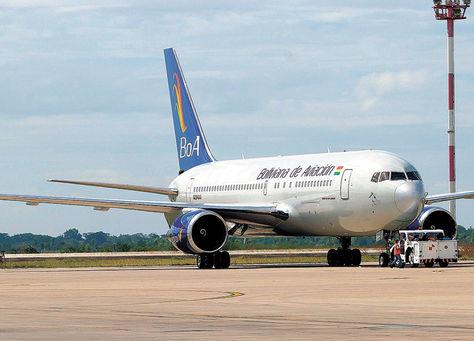 Viru Viru. La aerolínea estatal ya realiza vuelos a Madrid con la aeronave Boeing 767-200ER (foto).