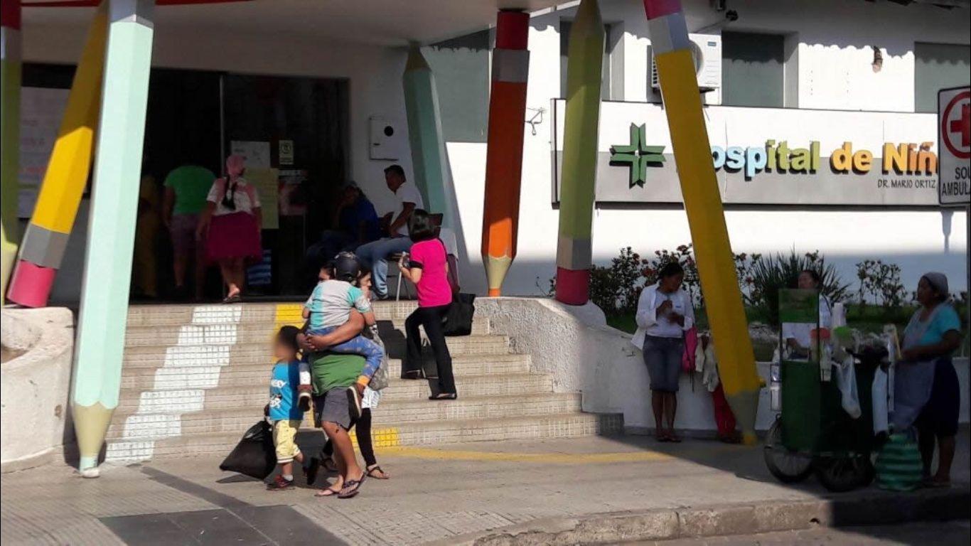 Resultado de imagen para paro hospital de niños mario ortiz