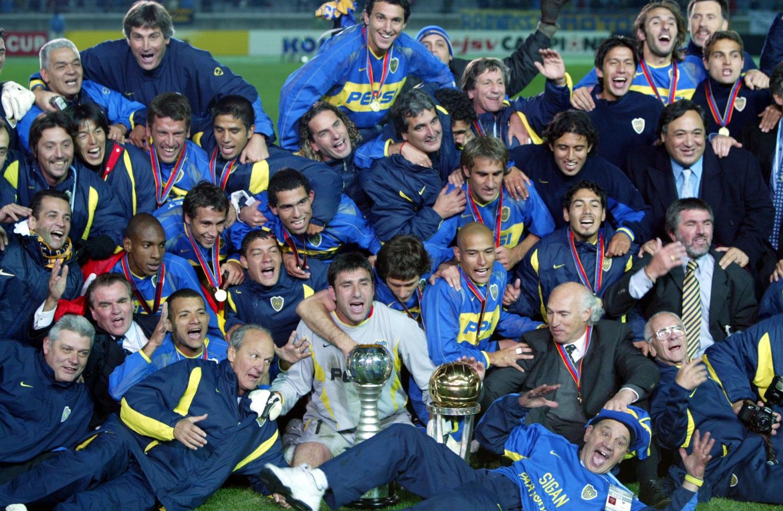 Resultado de imagen para boca campeon intercontinental