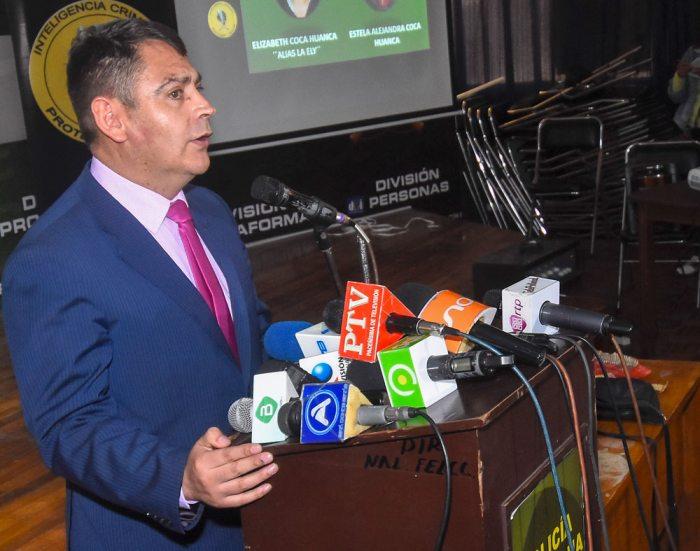 CORONEL JHONNY AGUILERA, DIRECTOR DE LA FUERZA ESPECIAL DE LUCHA CONTRA EL CRIMEN