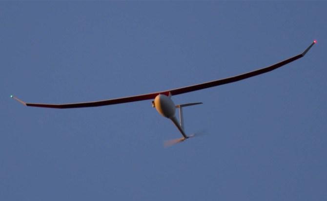 Drone con motor diésel bate récord mundial del vuelo más largo
