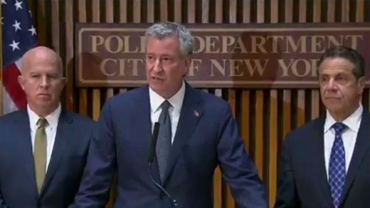 Bill de Blasio , alcalde de Nueva York
