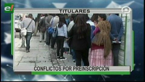 Video titulares de noticias de TV – Bolivia, noche del martes 17 de octubre de 2017