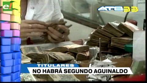 Video titulares de noticias de TV – Bolivia, mediodía del lunes 30 de octubre de 2017