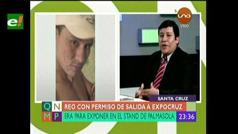 Juez asegura que permiso otorgado a sentenciado por asesinato para asistir a la Expocruz 2017 se apegó a derecho