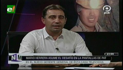 Mario Herrera: Asumir la gerencia de un medio de comunicación es un desafío
