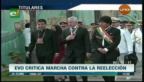 Video titulares de noticias de TV – Bolivia, mediodía del lunes 2 de octubre de 2017
