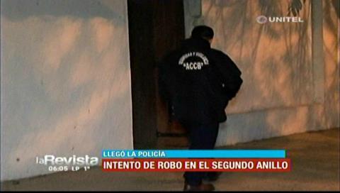 Guardia de seguridad frustra robo en un domicilio de la Monseñor Rivero