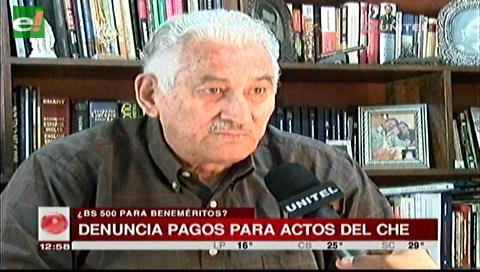 """Acusan al Gobierno de ofrecer pagos a beneméritos para actos por el """"Che"""" Guevara"""