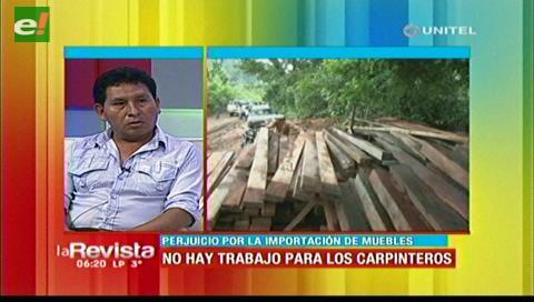 Carpinteros en emergencia por el aumento de muebles melamínicos en Santa Cruz