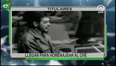 Video titulares de noticias de TV – Bolivia, noche del jueves 5 de octubre de 2017