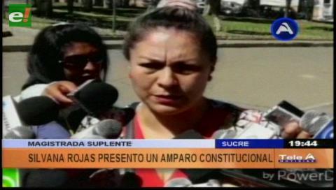 Rojas presentará amparo en pugna por magistratura