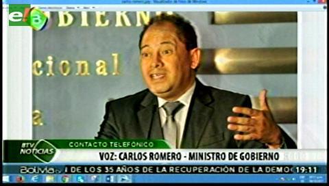 Romero: Movilizados por la democracia son grupos de derecha disfrazados de colectivos ciudadanos