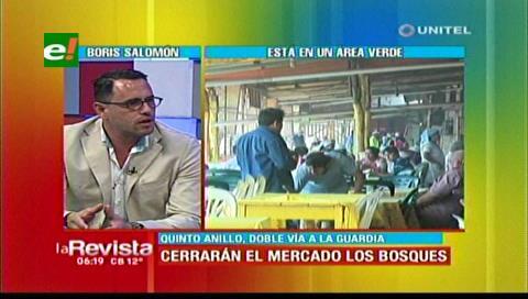 Alcaldía cruceña admite que aún no tienen espacio para trasladar al mercado Los Bosques