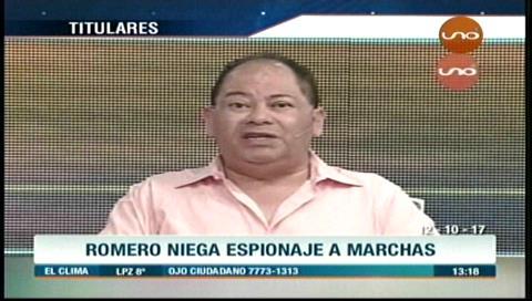 Video titulares de noticias de TV – Bolivia, mediodía del jueves 12 de octubre de 2017