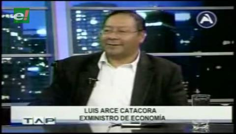 Exministro Arce tiene cáncer de riñón y afirma que se lo revierte