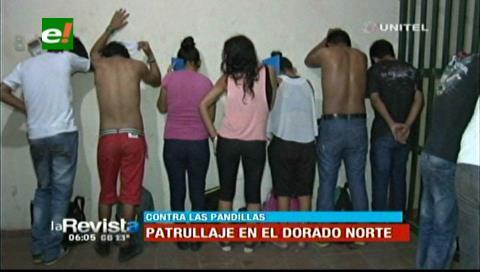 Policías realizan patrullajes en El Dorado Norte por las pandillas