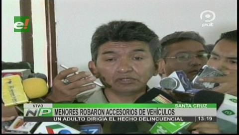 Diprove recuperó vehículos robados y aprehenden a dos personas