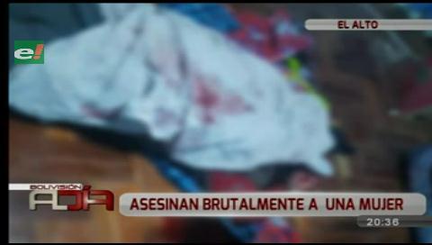 Mujer fue asesinada en su casa por delincuentes