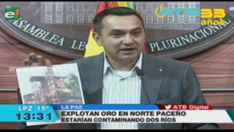 Denuncian explotación ilegal de oro en el norte de La Paz