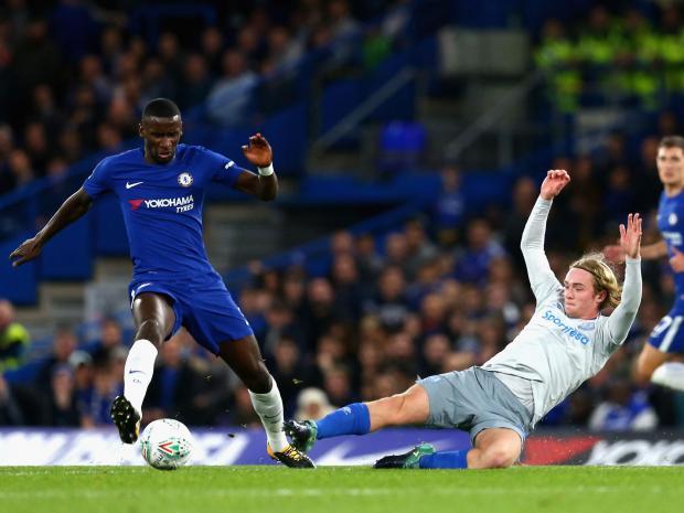 Copa de la Liga Inglesa: Chelsea eliminó al Everton y está en la semifinal