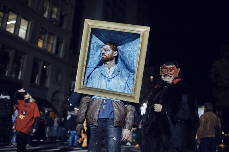 El desfile de Halloween en el Greenwich Village de Nueva York(AP Photo/Andres Kudacki)