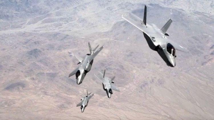 Caza furtivos F-35 de la fuerza aérea de Estados Unidos