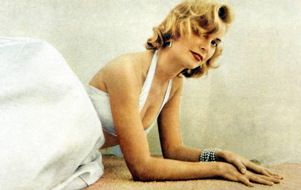 Grace Kelly, en una imagen de 1955.