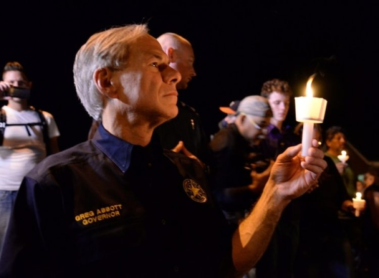 El gobernador de TexasGreg Abbott (REUTERS/Joe Mitchell)