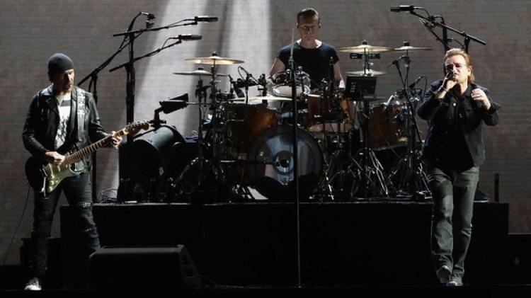 Parte de la actuación de U2 será emitida durante la gran ceremonia de los EMAs (Getty Images)