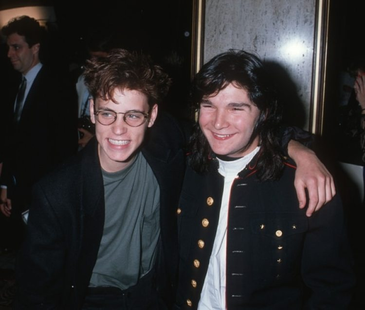 Corey Haim y Corey Feldman (Photo by Ron Galella, Ltd./WireImage)