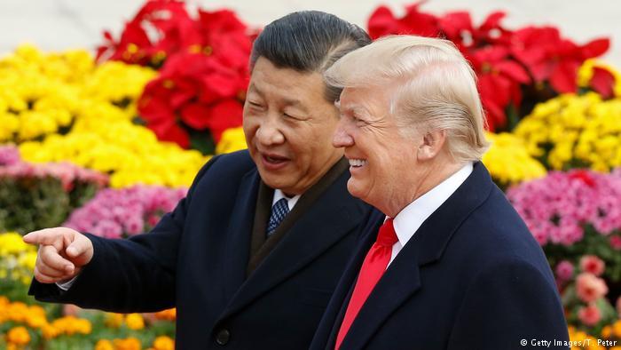 China USA Donald Trump & Xi Jinping in Peking (Getty Images/T. Peter)