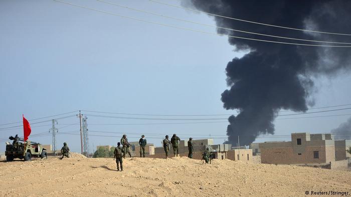 Irak, Shiite Popular Mobilization Forces (PMF) ziehen in Richtung der Stadt Al-Qaim vor (Reuters/Stringer)