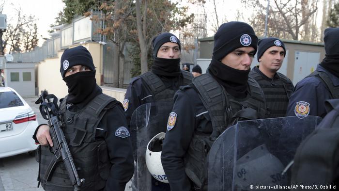 Imagen de un operativo realizado en octubre pasado en Ankara