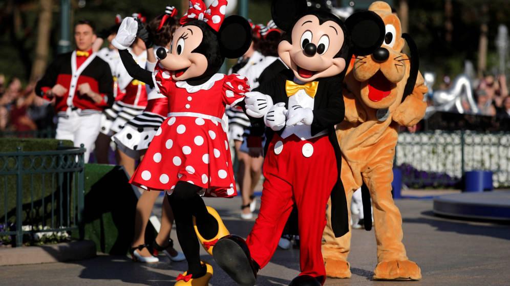 Foto: Personajes Disney. (Reuters)