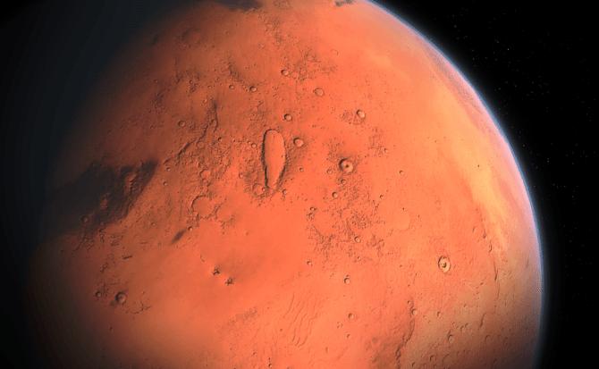 Sorpresa en el planeta rojo: el agua líquida de Marte era en realidad arena