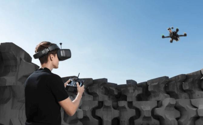 DJI pone el ojo en las competiciones de drones con sus nuevas Goggles RE