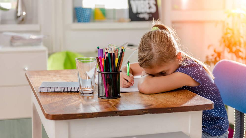 Foto: Los niños pequeños también saben qué es el estrés. (iStock)