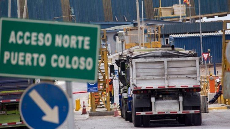 Los trabajadores de la mina Escondida paralizaron sus tareas por 24 horas (EFE)